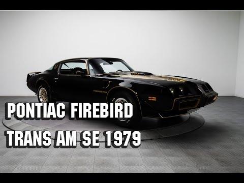 Pontiac Firebird Trans Am SE 1979 года выпуска