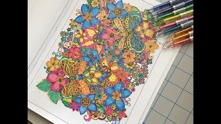 getlinkyoutube.com-speed coloring in my coloring book  double the fun