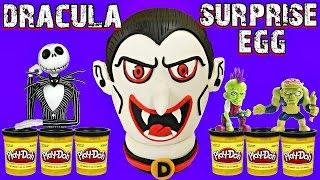 getlinkyoutube.com-GIANT VAMPIRE PLAY DOH SURPRISE EGG DRACULA | HALLOWEEN Toy Opening Episode