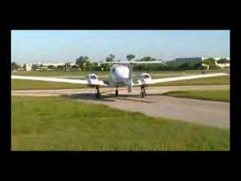 Diamond DA42 Twinstar - Taxi &amp; Departure