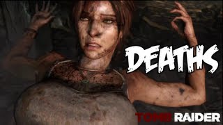 getlinkyoutube.com-Tomb Raider - All Death Scenes [HD] Compilation