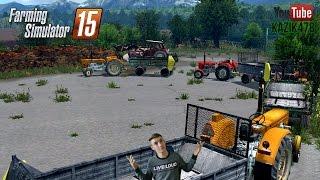 getlinkyoutube.com-Rozrzucanie obornika 4xUrsus Farming Simulator 2015 #76