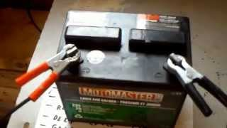 getlinkyoutube.com-Lead acid battery restoration desulfation recondition in 5 minutes for $ 1.oo epsom salt