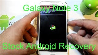 getlinkyoutube.com-Samsung Galaxy Note 3 Stock recovery factory reset
