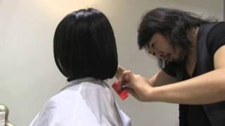 水原希子さん風髪型に挑戦!ばっさりきってみたvol4 笑顔編