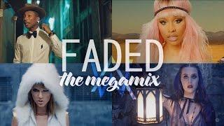 getlinkyoutube.com-Faded – Ed Sheeran • Katy Perry • Nicki Minaj • Justin Bieber • Sia (The Megamix) T10MO