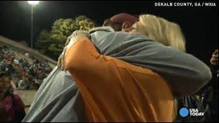 getlinkyoutube.com-Wife's surprise brings veteran football coach to tears