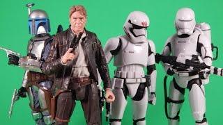 getlinkyoutube.com-Star Wars The Force Awakens Black Series Wave 5 Action Figure Review