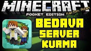 getlinkyoutube.com-Minecraft PE: Bedava Server Kurma Uygulaması | GERİ DÖNDÜM !!!