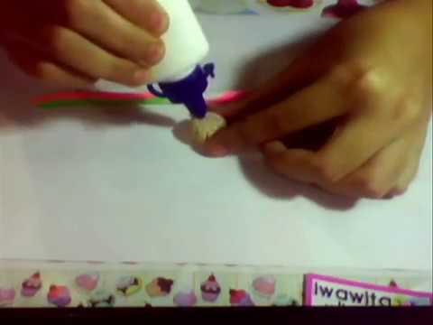 Cómo hacer Ponquecito/Cupcake de Masa Flexible / Cold Porcelain.