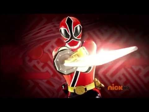Power Rangers: Super Samurai - Rangers Morph 26 (1080p HD) - 2 minute morph