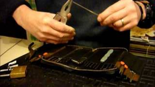 getlinkyoutube.com-Lock Picking TUTORIAL On Making Your Own Tension Wrench FROM CAR WIPER BLADES www.uklocksport.co.uk