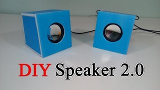 getlinkyoutube.com-How to build a 2.0 speaker mini for yourself