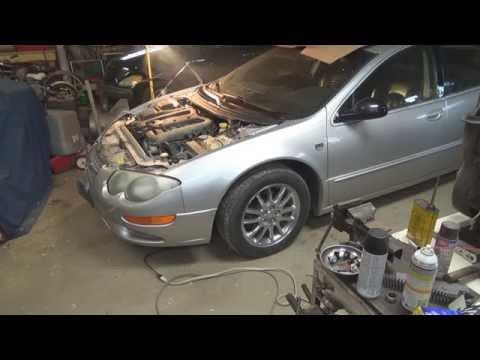 2001-2004+ Chrysler 300M inner tie rod bushing replacement, Pt 3 Final!