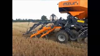 Inter-row direct drilling oilseed rape with the Mzuri Pro-Til 3T Select