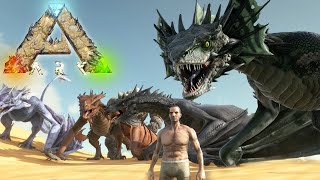 getlinkyoutube.com-ALL NEW CREATURES!!! NEW DRAGONS!! - Scorched Earth - Ark Survival Evolved Expansion