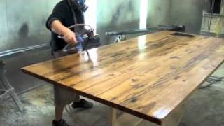 getlinkyoutube.com-reclaimed wood top