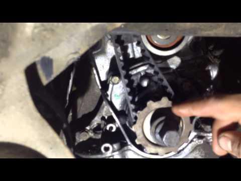 Замена маслосъёмных колпачков без снятия головки Honda HRV 1.6
