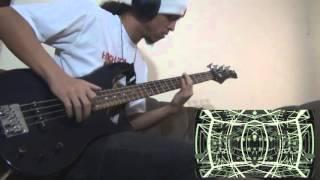 "getlinkyoutube.com-Owarimonogatari OP 2 - ""Mathemagics"" - Bass cover"