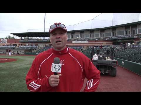 MAC Baseball Tournament Video: Miami Head Coach Dan Simonds