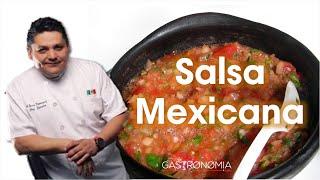 getlinkyoutube.com-Receta Salsa Mexicana para tacos por Bricio Dominguez