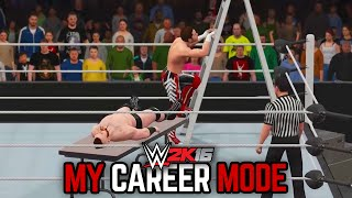 """WWE 2K16 My Career Mode - Ep. 183 - """"NO HOLDS BARRED!! BATTLEGROUND!! EXTREME MOMENTS!!"""""""