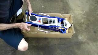 getlinkyoutube.com-2 Ton Aluminum Racing Floor Jack Review
