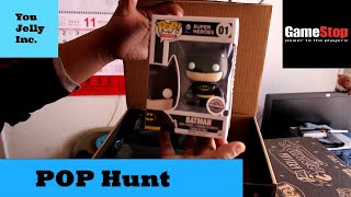 getlinkyoutube.com-Funko Pop Hunt Black Friday: Part 2 GameStop Mystery Boxes Unboxing Gold?