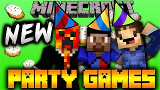 getlinkyoutube.com-Minecraft PARTY #16 'NEW GAMES!' with Vikkstar, Woofless & Preston