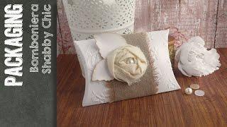 getlinkyoutube.com-Pillow Box Shabby Chic - Scatolina bomboniera portaconfetti