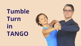 getlinkyoutube.com-How to Dance Tumble Turn in Tango?