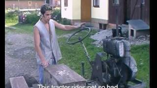 getlinkyoutube.com-Łukasz Skąpski - 'Machines - drivers' -  video about home made tractors in Poland