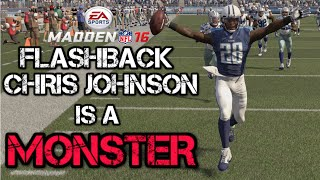getlinkyoutube.com-Flashback Chris Johnson is a MONSTER! | Madden 16 Ultimate Team Gameplay | MUT 16