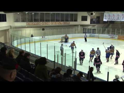 2013-14 GOJHL: Buffalo Regals vs. Caledonia Pro-Fit Corvairs (12/7/13)