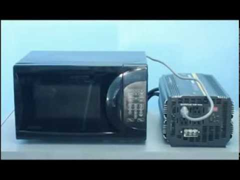 Power Inverters - Using a Microwave Oven with a Power Inverter