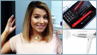getlinkyoutube.com-Jak układam swoje włosy-Idealny odcień blondu?Tonowanie różową płukanką-Pielęgnacja -MOJA RUTYNA