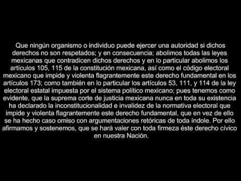 Declaracion De Independencia Estados Confederados De Aridoamerica