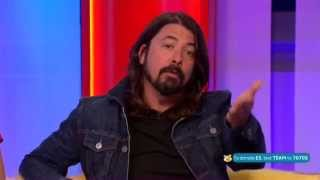 getlinkyoutube.com-Dave Grohl Foo Fighters BBC The One Show 2014