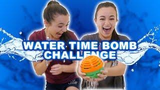 getlinkyoutube.com-WATER TIME BOMB CHALLENGE - Merrell Twins
