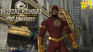 getlinkyoutube.com-Mortal Kombat vs DC Universe PS3 Gameplay #1: The Flash [I'm on SPEED!]