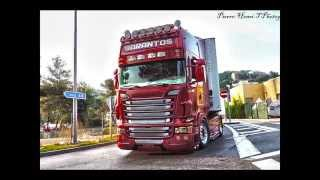 getlinkyoutube.com-Scania R V8 Sarantos Petropoulos Greece