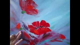 getlinkyoutube.com-Мастер-класс масляной живописи. Как нарисовать маки