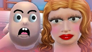 getlinkyoutube.com-MOMMY COMES BACK HOME FROM WORK !!! :O (Who's Your Daddy Funny Moments)