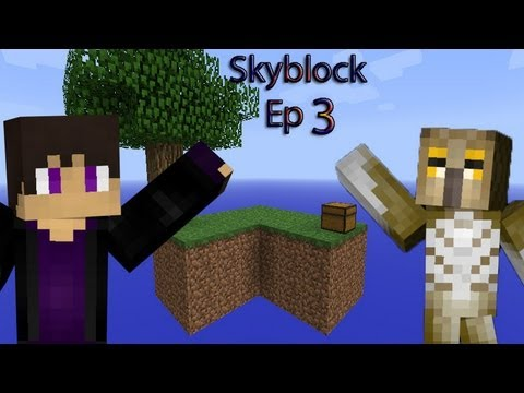 Minecraft- Custom map  Skyblock Ep 3