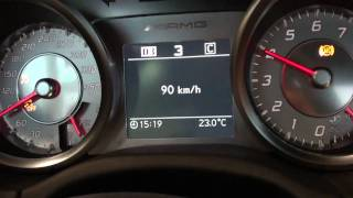 getlinkyoutube.com-SLS max speed test. 339 km/h.Gearbox test.