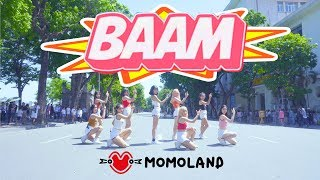[KPOP IN PUBLIC CHALLENGE] MOMOLAND (모모랜드) - BAAM (배앰) DANCE COVER by BLACKCHUCK width=