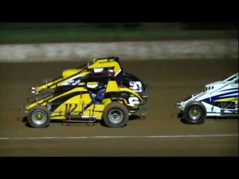 Australian Wingless Sprints - Simpson Speedway