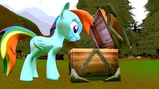 getlinkyoutube.com-Cursed Pony Magic: Rainbow Dash