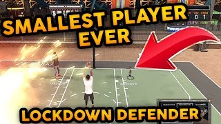 getlinkyoutube.com-SMALLEST PLAYER EVER ! 55 OVR LOCKDOWN DEFENDER I GOT EXPOSED ! NBA 2K17 MyPARK | WORLD RECORD
