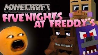 getlinkyoutube.com-Annoying Orange Plays - FIVE NIGHTS AT MINECRAFT!!